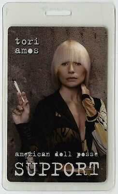Tori Amos authentic 2007 concert tour Laminated Backstage Pass