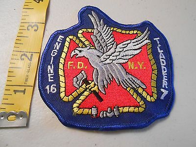FDNY Fire Department New York Engine 16 Ladder 7 Patch