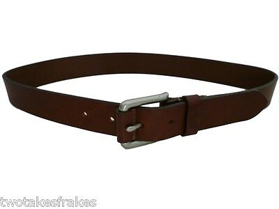 GAP Kids Leather Designer Brown Belt Unisex Boys Girl's Made in UK New 23 - 25 M