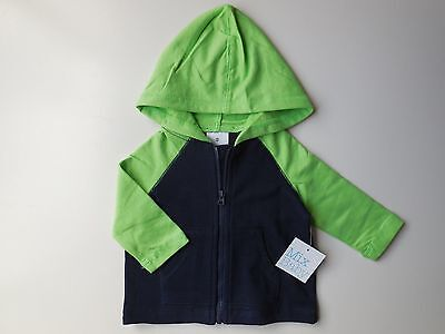 Baby Boy Lightweight Hoodie Jacket Size 00 Fits 3-6M *new
