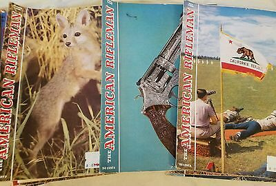 Vintage American Rifleman Magazines Lot of 3 March 1958, April 1958 & May 1958