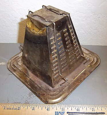 Vintage Bromwell Toaster #2s Pyramid 2 slice for Stove Top or Camp Fire