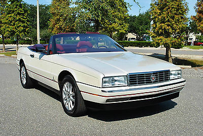 1989 Cadillac Allante Convertible 2-Tops Only 54,520 Miles! Loaded! Pristine1989 Cadillac Allante Convertible Hard & Soft Top Only 54,520 Miles! wow