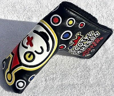 SCOTTY CAMERON M & G JACKPOT JOHNNY BLACK TOUR Putter HEADCOVER *SOLD OUT*