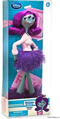 """NEW Disney Store Exclusive Monsters University Heather Olson Toy Doll PNK 11"""""""