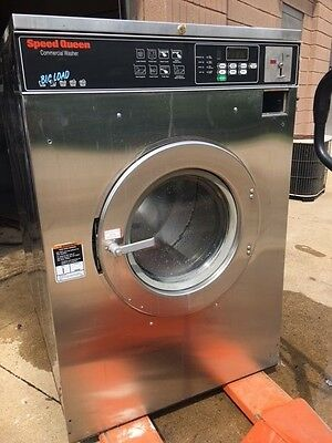 Speed Queen 50lb Commercial Washer Laundromat Coin Wash Huebsch Dexter FREE SHIP