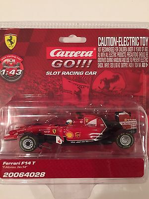 Carrera GO 64028 Ferrari F. Alonso #14 F1 1/43 Scale Slot Car