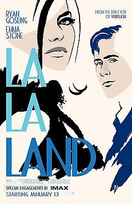 "La La Land ORIGINAL D/S 17""x24"" Limited Edition IMAX Mini Movie Poster Gosling"