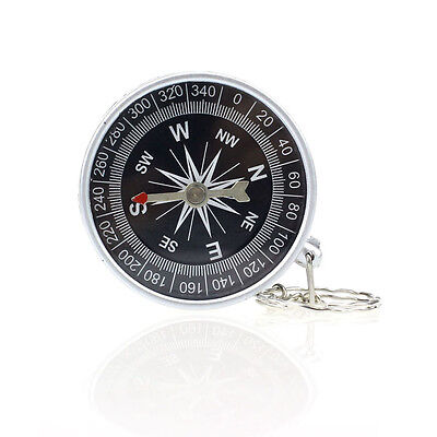 Keychain Outdoor Camping Plastic Compass Hiking hunting Hiker Navigation