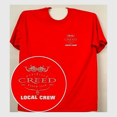Creed Concert Crew Shirt 2005 Tour never worn with tags