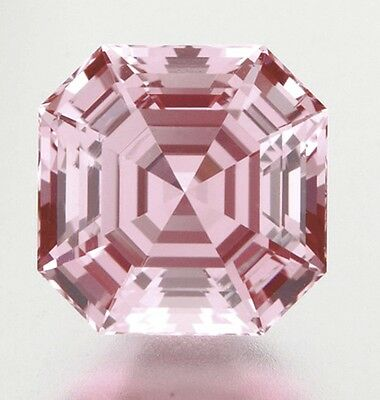 Morganite - Asscher Cut - Light Pink Tone - Natural and Untreated