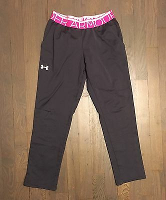 Under Armour All Season Gear Capri Crop Yoga Pants Leggings Youth M