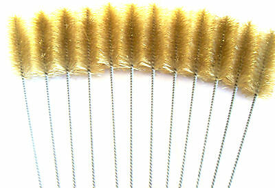 """6 Goliath Industrial 16"""" Brass Wire Tube Cleaning Brush 1-1/2"""" Tb112B Brushes"""