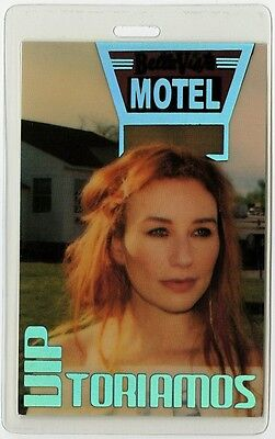 Tori Amos authentic 2003 concert tour Laminated Backstage Pass
