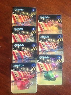 Woolworths Dreamworks Turbo Collectable Cards - 7