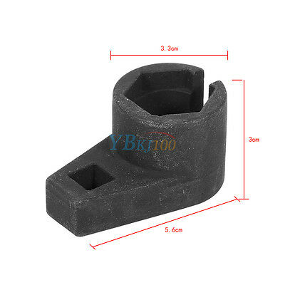 "Universal Car 22mm 3/8"" Oxygen Sensor Wrench Offset Removal Socket Durable Tool"