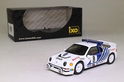 IXO RAC067; Ford RS200; 1986 Rally Sweden 3rd Place, RN8, 1:43 Excellent Boxed