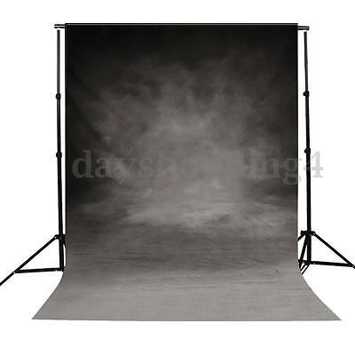 Vintage Black Grey Photo Backdrop Photography Studio Background Prop 3X5FT