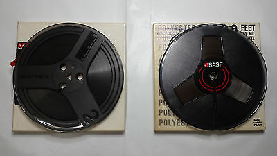 "PACK 2 BOBINE VINTAGE DA 7""   REEL TO Reel TAPES USED.   (Lotto:10)"