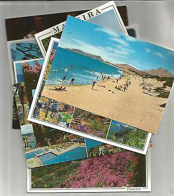 14 Used Postcards Of Madeira, Portugal