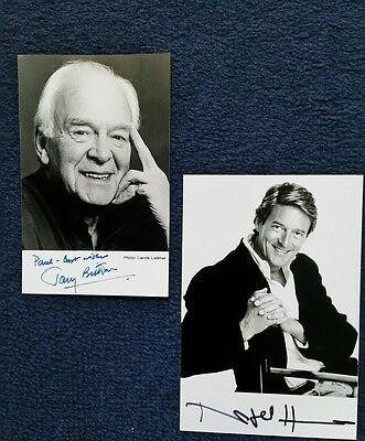 Tony Britton/Nigel Havers lot signed photos-excellent condition- real bargain!!