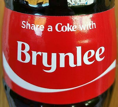 Share A Coke With Brynlee Personalized 8 oz Coca Cola Collectible Glass Bottle