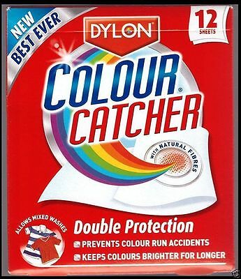 DYLON Colour Catcher Pack of 12! AS SEEN ON TV!!! - UK's Number One!!
