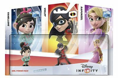 *Disney Infinity Girl Power Pack / Pack Chicas (3 Figuras Chicas)