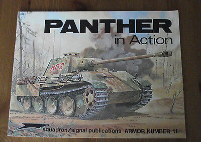 Panther in action. Squadron / Signal Armor No. 11