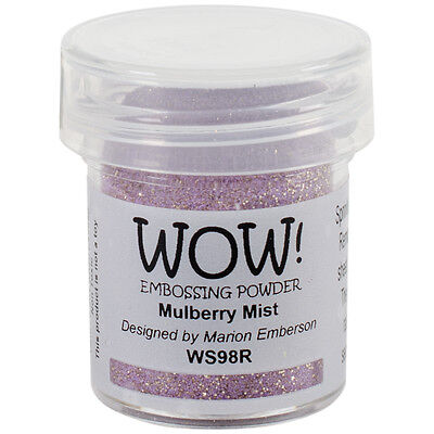 WOW! Embossing Powder 15ml-Mulberry Mist