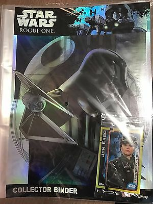 Topps Rogue One binder NEW Star Wars