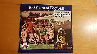 Esso 100 Years of Football FA Cup Winners 1872-1972 coin collection
