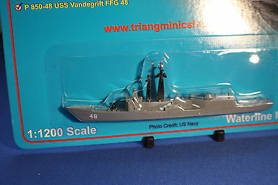 USS VANDEGRIFT FFG 48  OH Perry Class Frigate Triang Minic Ships 1/1250 scale