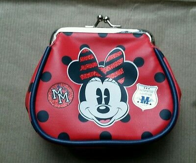 Disney, Minnie Mouse, coin Purse, By The Disney Store, BNWOT