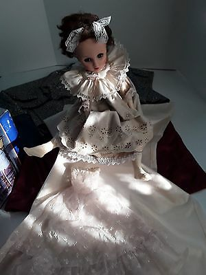 1950's doll with extra clothes