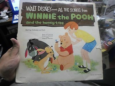 Walt Disney - Record LP - 1965 - Songs - Winnie the Pooh and the Honey Tree
