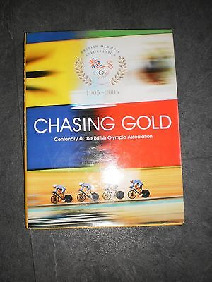 Olympic Book Chasing Gold
