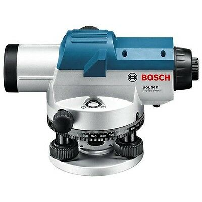 NEW! Bosch GOL 26 D Professional Optical Laser Level with 26 x Magnification