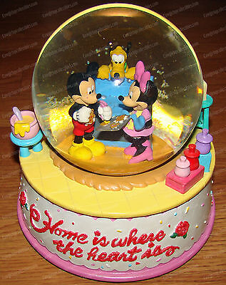 Home is where the heart is...Mickey, Minnie, Pluto (Disney China) Musical WG