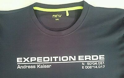 Outdoor Funktions T-Shirt Xxl.expedition Erde