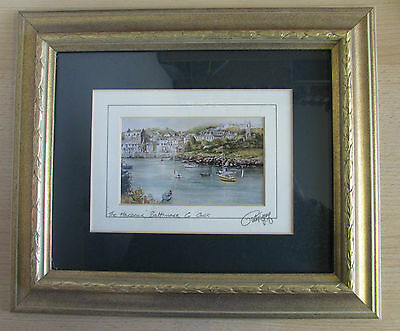 Framed & Glazed Print Of The Harbour Baltimore County Cork