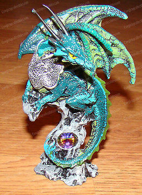 Teal Crystal Guardian Dragon (Mythical Collection, 11171)