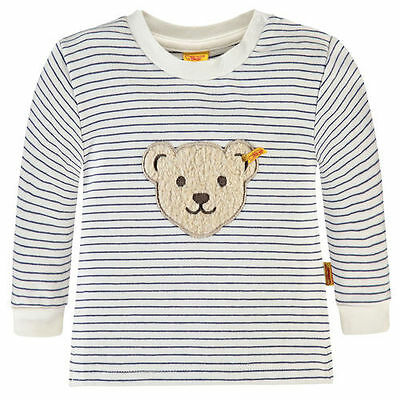 STEIFF Baby Sweatshirt MY LITTLE FRIEND 6712713 Jungen Shirt Langarmshirt NEU