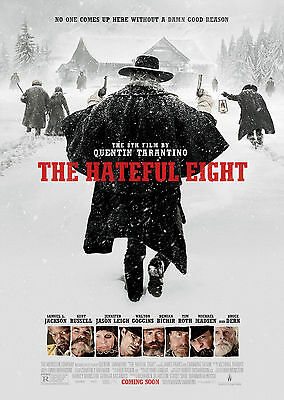 The Hateful Eight (2015) - A1/A2 POSTER **BUY ANY 2 AND GET 1 FREE OFFER**
