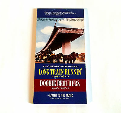 "DOOBIE BROTHERS Long Train Runnin' JAPAN EDITION 3"" CD Single 1994 WPDR-3018"