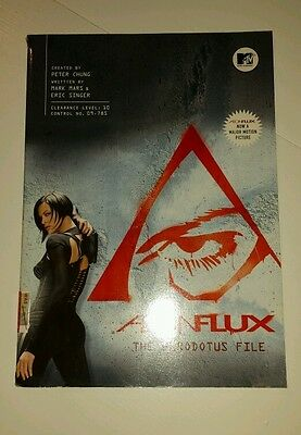Aeon Flux: The Herodotus Files by Mark Mars, Eric Singer (Paperback, 2005) RARE