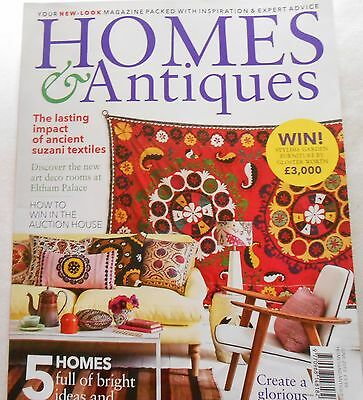Homes and Antiques Magazine June 2015 vgc