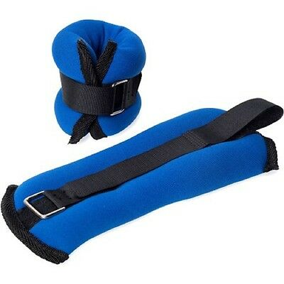 Tone Fitness 2lb Pair of Ankle/Wrist Weights blue