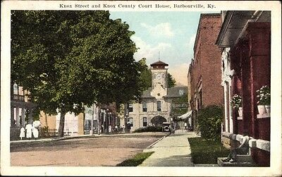 Ak Barbourville Kentucky USA, Knox Street, Knox County Court House - 901711