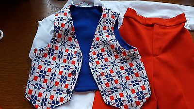 Vintage 4-pc boys Suit Outfit - 3T